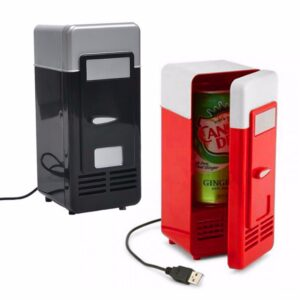 Mini USB Fridge office Cooler Beverage Drink Cans Cooler Warmer Portable Refrigerator USB Gadget for Laptop for PC