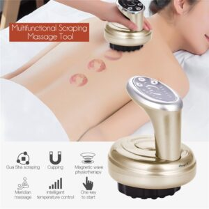 6 Gears Scraping Detoxification Beauty Device Body Guasha