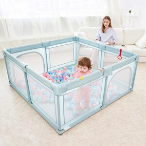 Baby Playpen for Children Pool Balls Newborn Mesh Fence