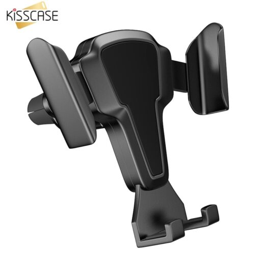 KISSCASE Car Phone Holder Stand Air Vent Mount Cell Phone Holder For iPhone 11 Max Samsung