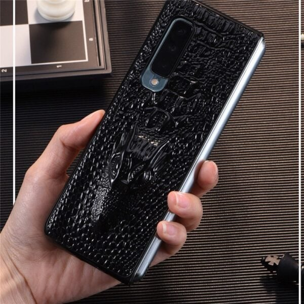 Luxury Leather Phone Case Shockproof Protective Back Cover