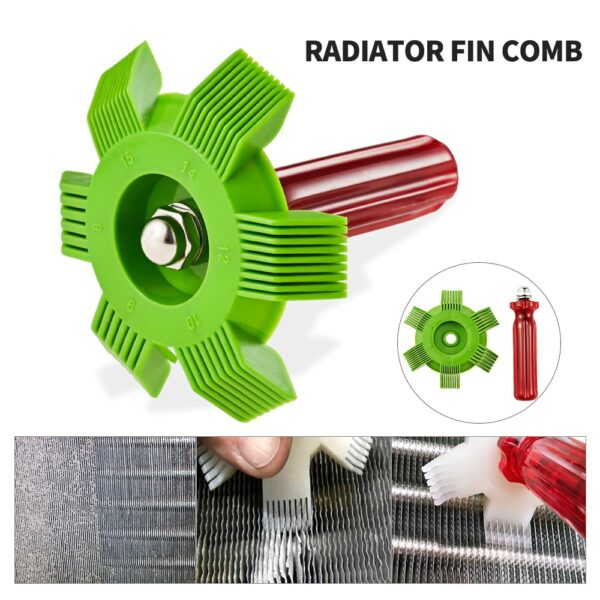 Radiator Comb Evaporator Air Conditioning Tools
