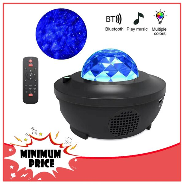 Starry Sky Night Light Star Projector / Sky / Galaxy LED Projector Star Light Music Player Kids Night Light Lamp Gift for Home