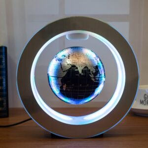 Novelty Gifts LED Round Floating Globe Magnetic Levitation Light Antigravity ideas Lamp bola de plasma December electric plasma ball