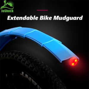 Mountain Bike Mudguards Adjustable Mudguards with Front / Rear Bicycle Rear Fender