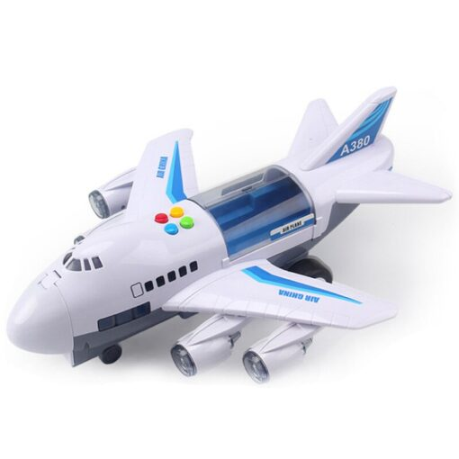 Music Story Simulation Track Inertia Kids Toy Plane Large Size Passenger Plane Children Airliner Toy Car