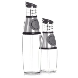 2pcs / set 9 / 17Oz Bottle Oil Dispenser Oil Spray Bottle For Oil Squeeze Bottle Dispenser Kitchen Supplies Kitchenware