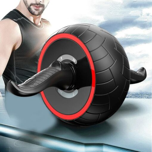 Speed Training for Fitness Ab Abdominal Roller Exercise Rebound Wheel Gym Resistance Training Sport red