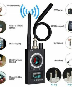 Multifunctional Anti Detector Camera K18 | GSM, Audio Bug Detector, GPS Signal Lens, RF Detector, Wireless Products, 1MHz-6.5GHz r60