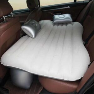 Car Travel Bed Camping Automotive Inflatable Sofa Air Mattress Back Seat Rest Cushion Rest Sleeping Cushion Without Pump Accessories