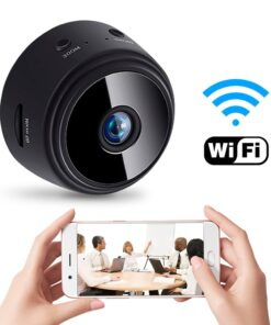 Mini Wireless 1080P HD WIFI Camera | Home Security, Night Vision Motion Detection, Mini Camcorder Video Recorder Loop