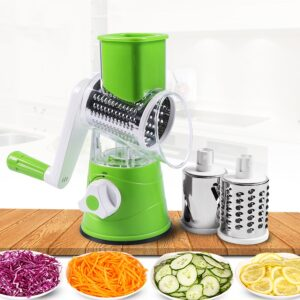 New Round Vegetable Cutter Mandoline Slicer Potato Carrot Grater Stainless Steel Multifunction Chopper Blades Kitchen Tool