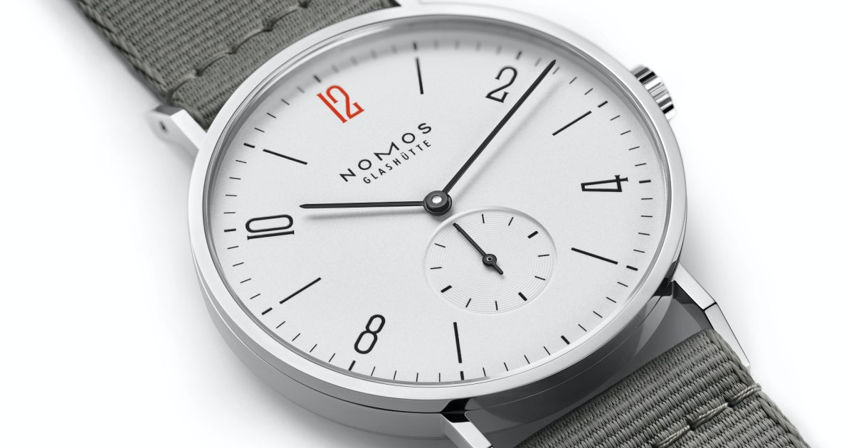 Watch of the Week: NOMOS Tangente 38 Limited Edition