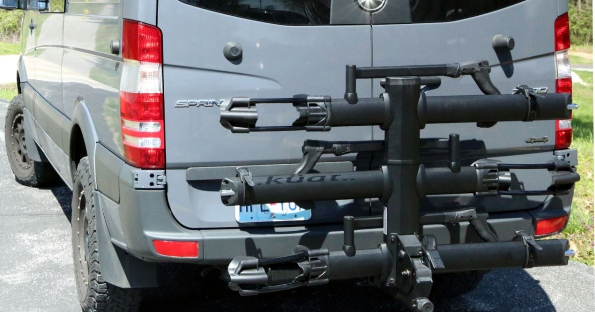 The Hitch-Mounted Rack Solution for Different Bike Types