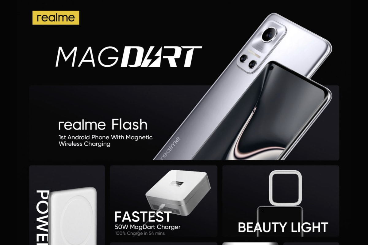 Realme MagDart announcement featured